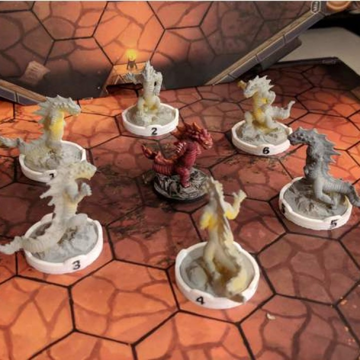 gloomhaven 3d printed monsters