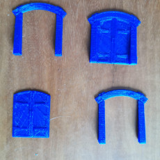 Picture of print of Wood Dungeon Door w/ Straight Header - Working This print has been uploaded by Jonathan Laumon Rodriguez