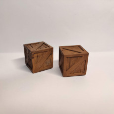 Picture of print of Wooden Crate for Gloomhaven