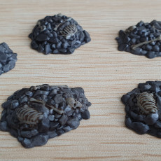 Picture of print of Rubble for Gloomhaven