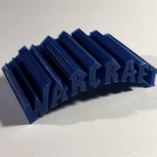 Picture of print of Warcraft Headphone Holder