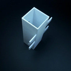 Picture of print of 3d square tube short