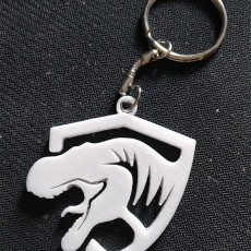 Jurassic keychain
