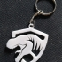 Jurassic keychain image