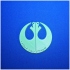 Star Wars Rebel Love Necklace print image