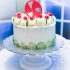 Peppermint Cake Topper image