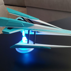 Picture of print of Spaceship Type-L
