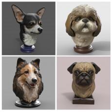 Dog Statue Bundle