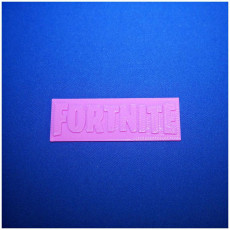 Picture of print of Fortnite Logo