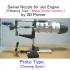 Swivel Nozzle for Jet Engine, 3 Bearing Type, [Phase 3] image