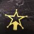magic wand star pencil topper image