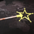 magic wand star pencil topper image