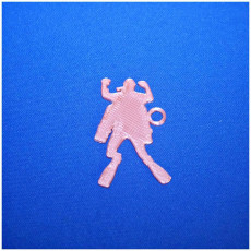 Picture of print of scuba sidemount keychain
