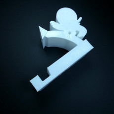Picture of print of Ninja phone holder