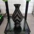 Braided Delight vase print image