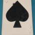 Poker Ace of spades card Puzzle image