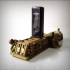 Steampunk USB holder. image