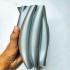 Twisted tube Vase image