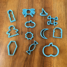 Picture of print of Haloween Cookie Cutters
