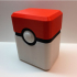 pokemon trading card pokeball box image