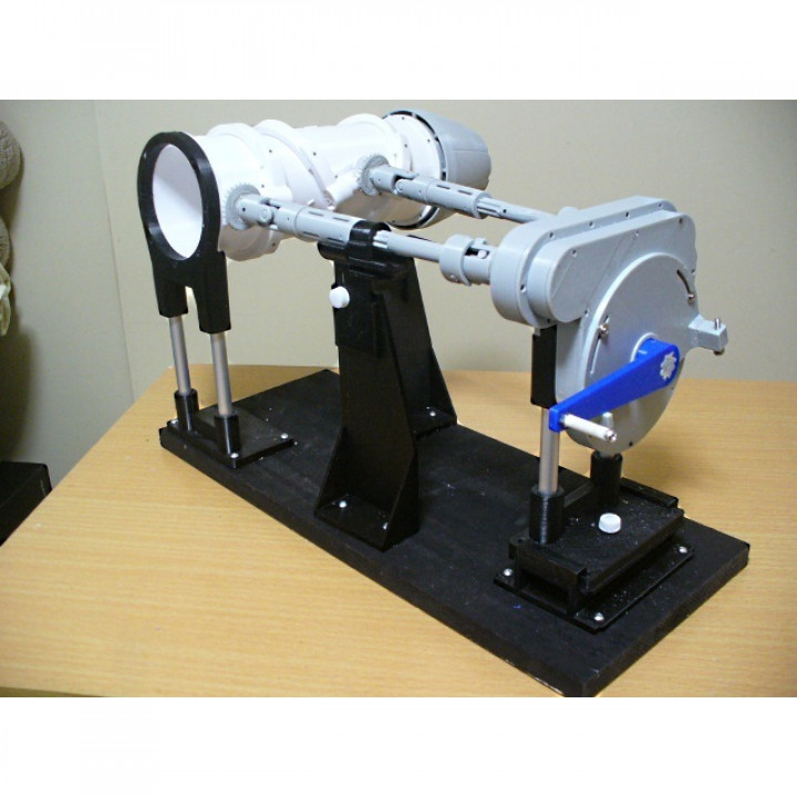 Swivel Nozzle for Jet Engine, 3 Bearing Type, [Phase 4]