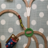 trunout rail for wooden train toy set image
