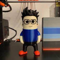 Picture of print of Mini Joel Telling - 3D printing Nerd This print has been uploaded by Daniel Franke