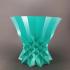 Faceted Vase print image
