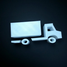 Picture of print of truck