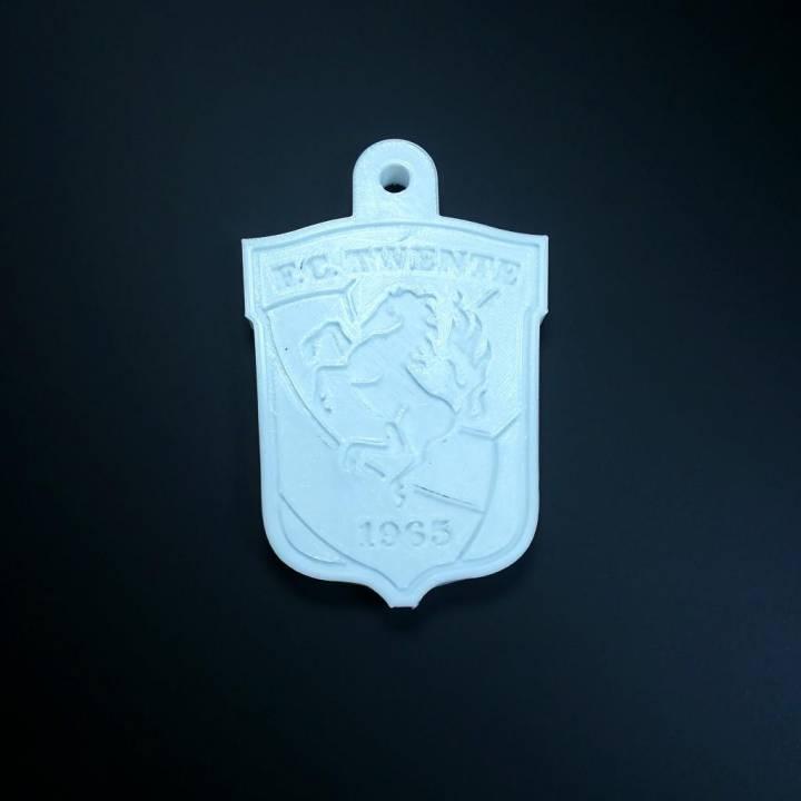 FC Twente keychain