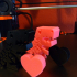 Flexi and Flexina Rex with Valentine's Day Heart image