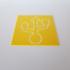 USB Symbol Stencil image