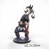 32 mm Miniature Wolf Paw Shaman image