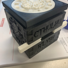 Picture of print of Cthulhu Puzzle Box 这个打印已上传 Jonathan C