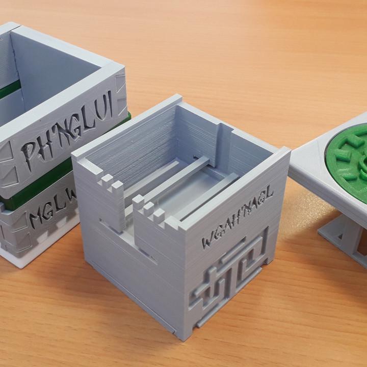 Cthulhu Puzzle Box
