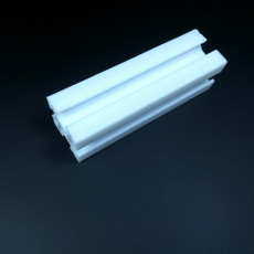 Picture of print of 3030 aluminium t-slot b-type extrusion