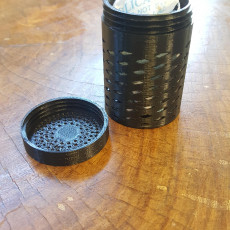 Picture of print of Desiccant bead container