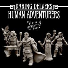 Daring Delvers: Human Adventurers