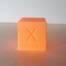 Calibration cube 25mm