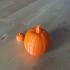 Pumpkin from 3D scan image