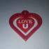 Keychain Love U image