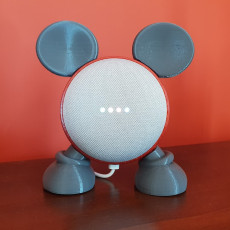 Picture of print of Google Home Mini Mickey