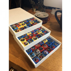 Star Wars Destiny Dice Boxes V2 (Slider Storage)