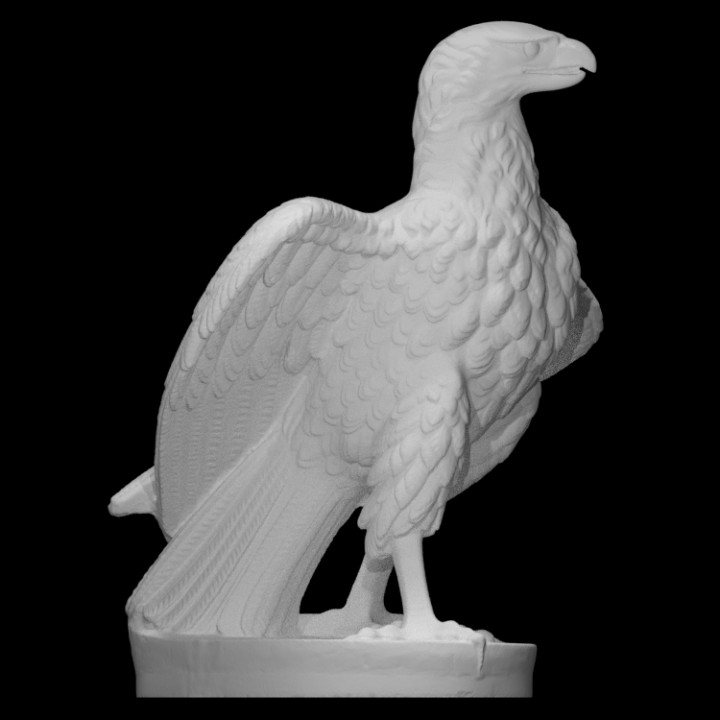 Striding Eagle