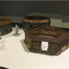 Huts for Conan Boardgames and other dungeon crawlers