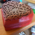 Celtic Heart Pattern Box print image