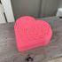 Celtic Heart Pattern Box print image