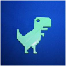 Picture of print of Offline dinosaur