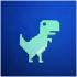Offline dinosaur print image