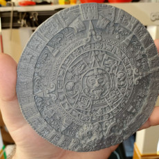 Picture of print of Aztec sun stone This print has been uploaded by Michael Harrison
